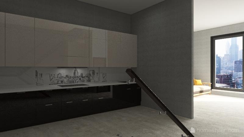 Sochi Town House New Interior Design Render