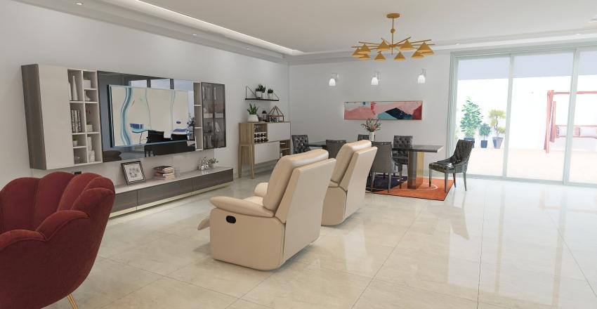 Dreaming house Interior Design Render
