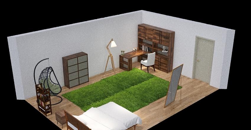 Copy of Clint Room Interior Design Render