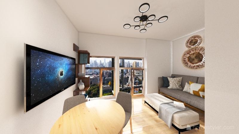 Copy of минск Interior Design Render