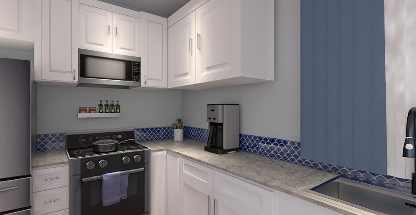 Barker Kitchen Interior Design Render