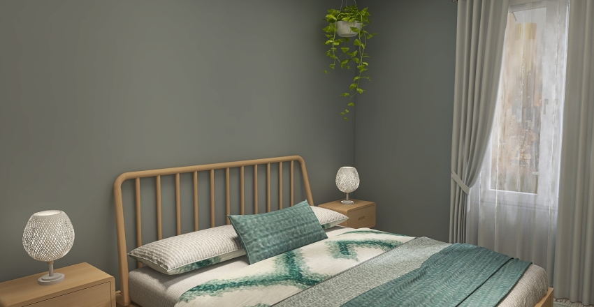 couple's first home Interior Design Render