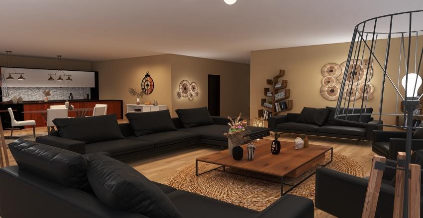 maison nina Interior Design Render