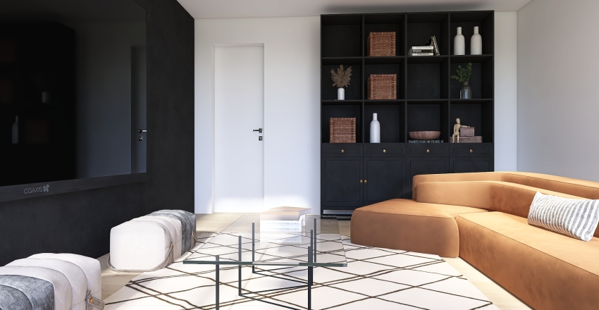 CALIFORNIA PARADISE Interior Design Render