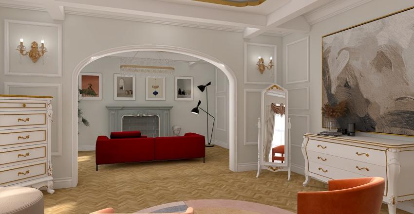Dormitorio Parisino Interior Design Render