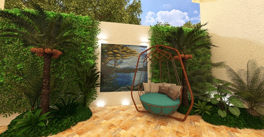 Casa Setúbal Interior Design Render
