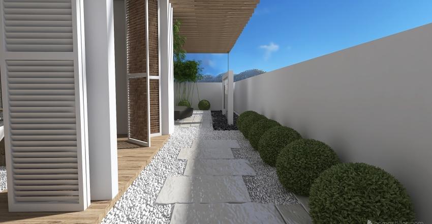Tropical Getaway Interior Design Render