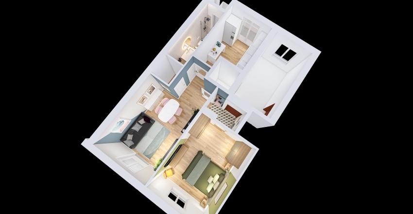 MANUEL MAZZONI Interior Design Render