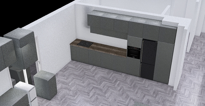 Opcja 1 Interior Design Render