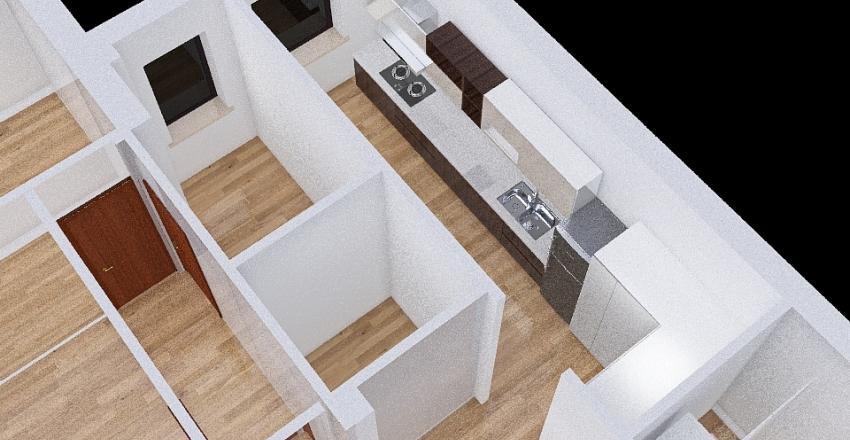 Giustiniani ipotesi 2 Interior Design Render
