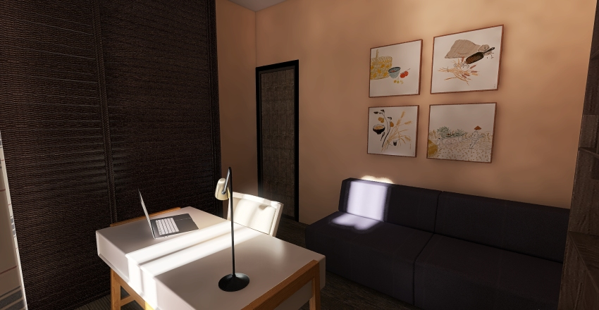 Via Corcioni 001 Interior Design Render