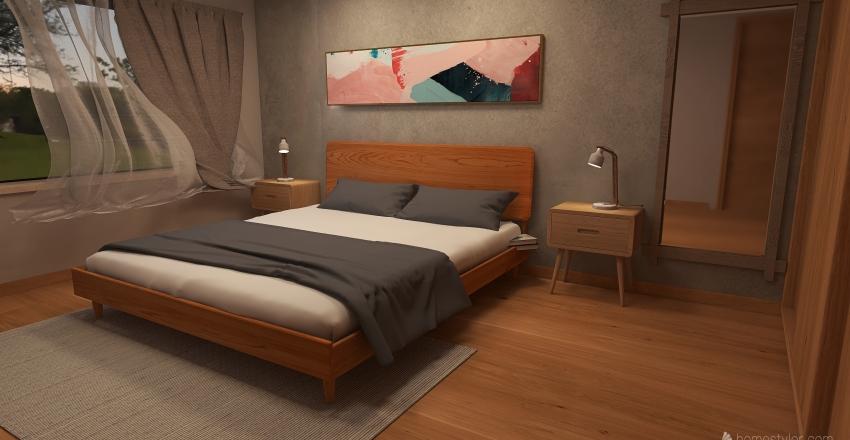 SAN IGNACIO JAPANDI Interior Design Render