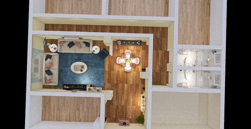 شقة Interior Design Render