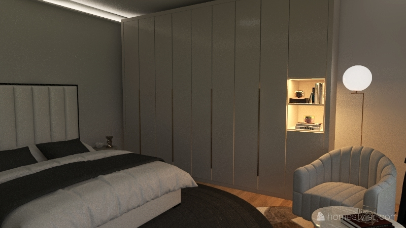 Loft Interior Design Render