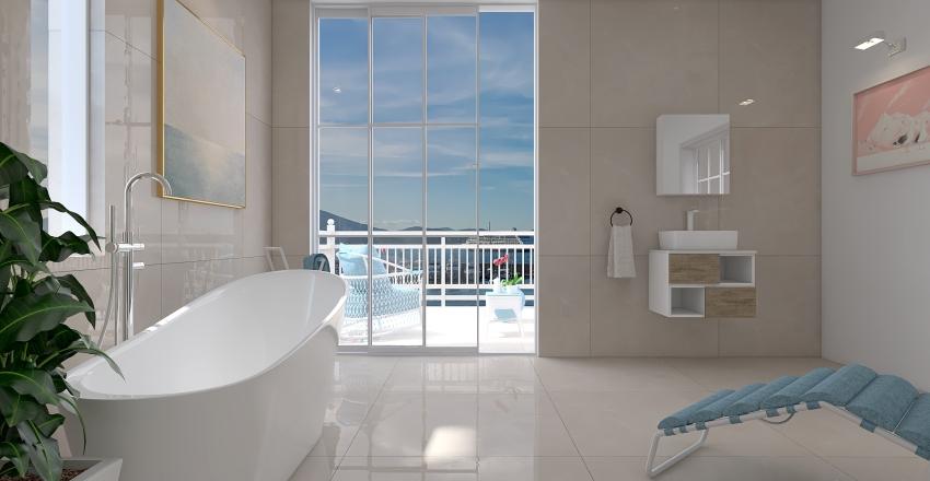Coastal area home  Interior Design Render