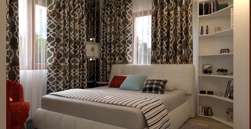 Кипр - гостевая Interior Design Render