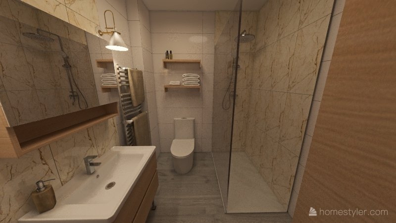 Mamen Baño Interior Design Render