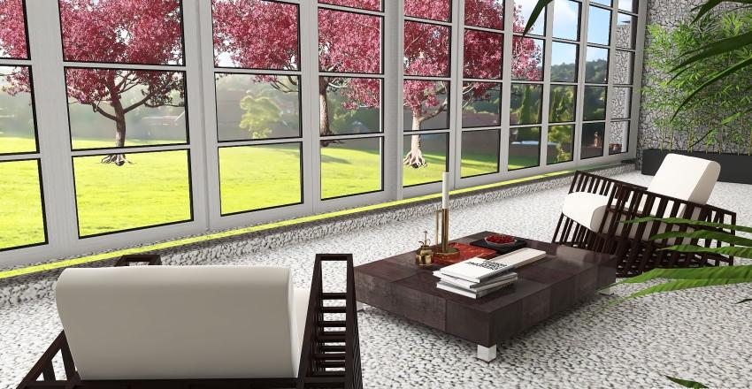 Sakura Zen Interior Design Render