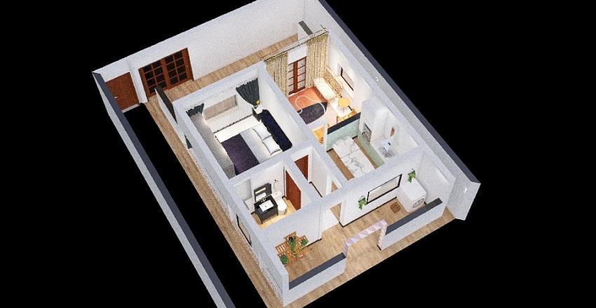 Nova Casa da Mamãe Interior Design Render