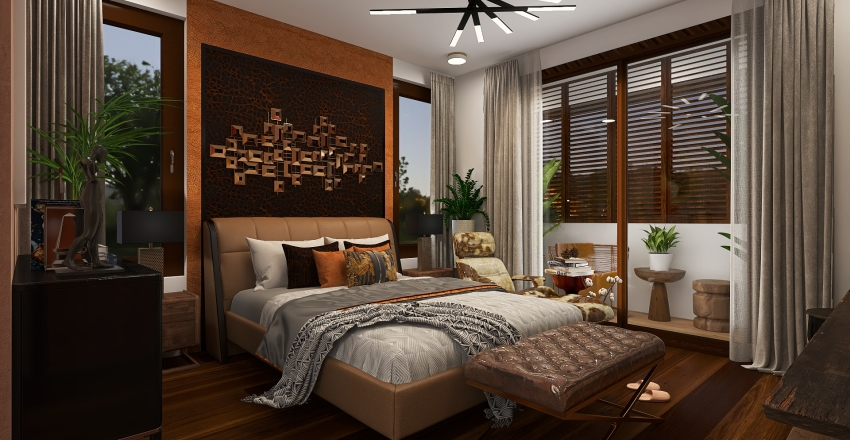 Clashy House Interior Design Render