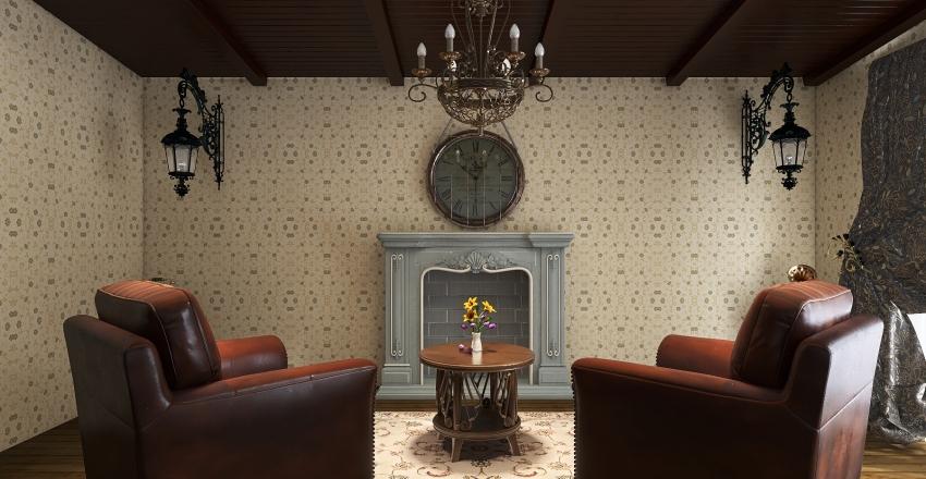 Smells like 70's Interior Design Render