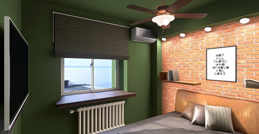 v2_brick of green Interior Design Render