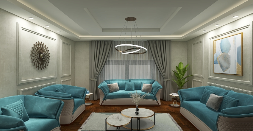 Duplex Apartment Interior Design Render
