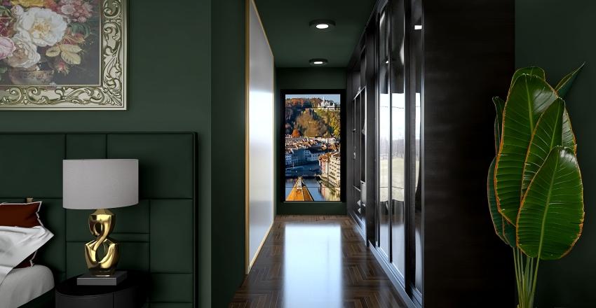 Luxury penthouse Interior Design Render