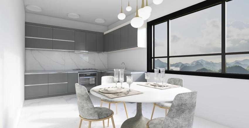 Cocina comedor Interior Design Render
