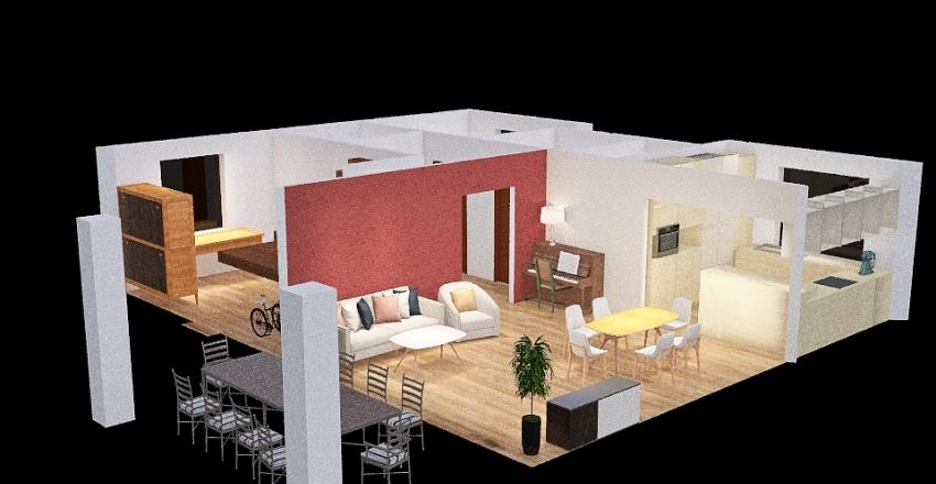 Markowe Jabłonki 19 GOTOWY Interior Design Render