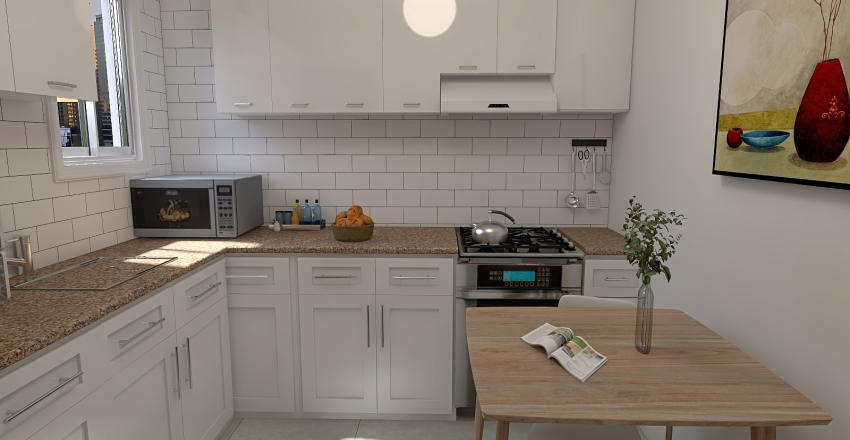 cocina 3 Interior Design Render