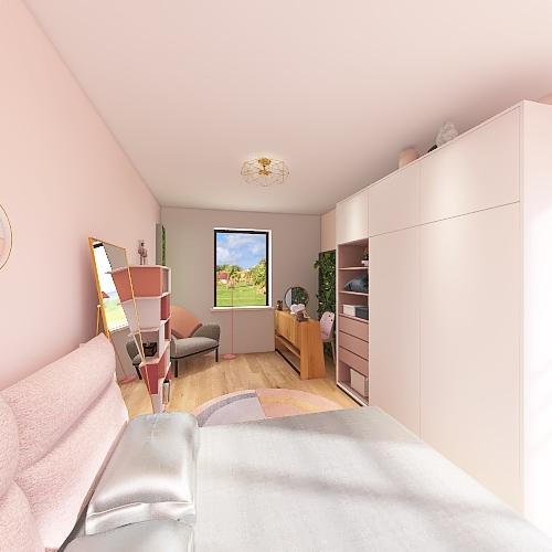 CUARTO NAOMY Interior Design Render