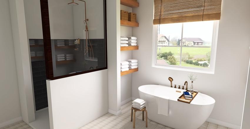 Farmhouse Interior Design Render