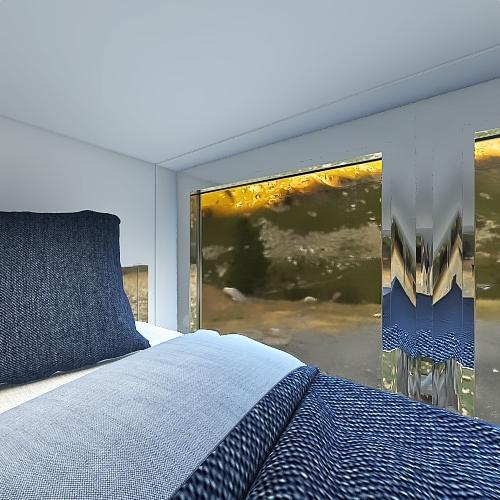 Zane's Tiny House Interior Design Render