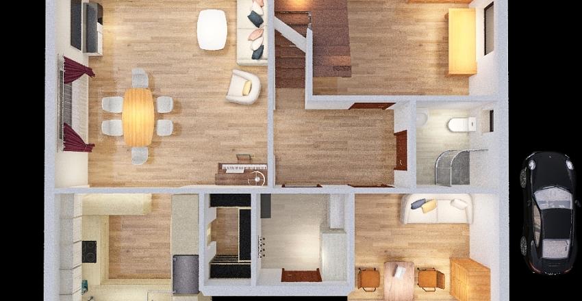 Jabłonki 19 GOTOWY Interior Design Render