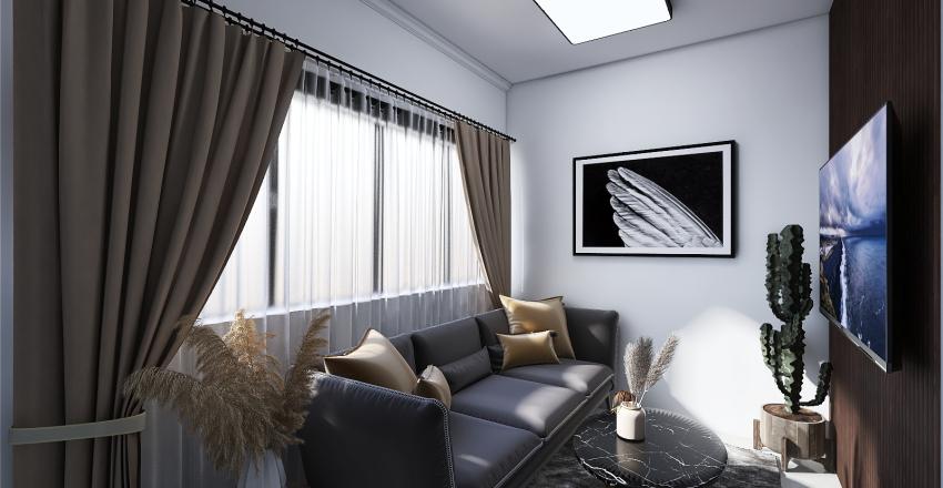 30sqm 1 Floor House Design Interior Design Render