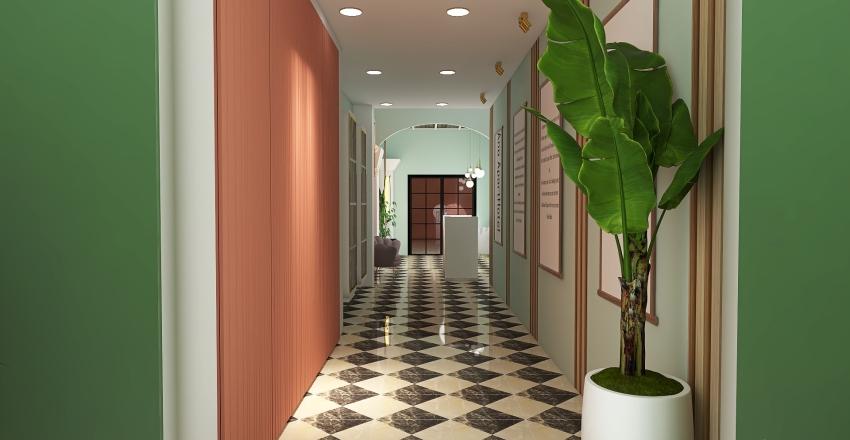 hotel corfu Interior Design Render