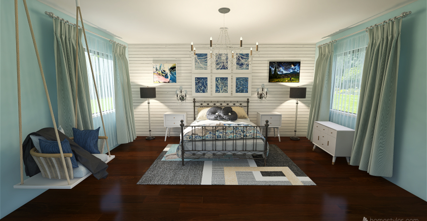 Blue Dream Interior Design Render