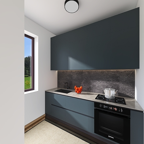 Studio Lugano Lake Interior Design Render