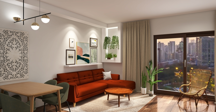 evi Interior Design Render