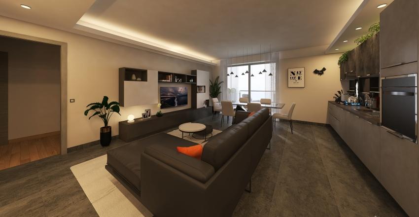 app. n° 8 ed. C Interior Design Render