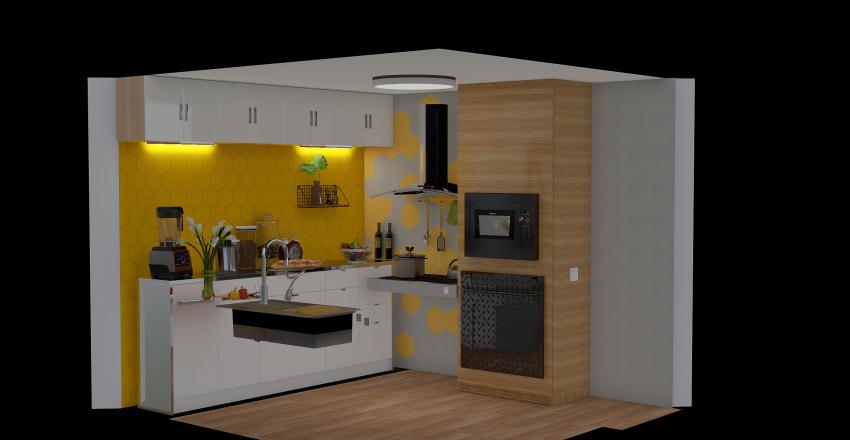 Cocina accesible  Interior Design Render