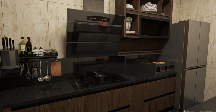 شقه سكنية_copy Interior Design Render