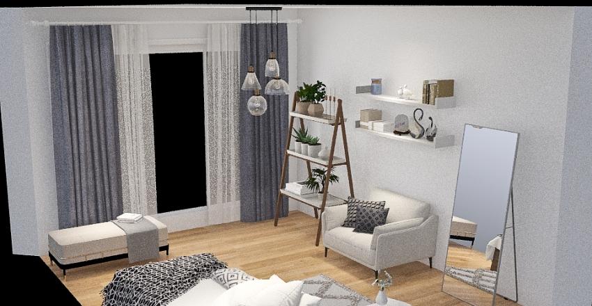 white.black Interior Design Render