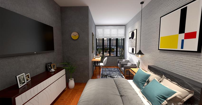 Casa Bruno Interior Design Render