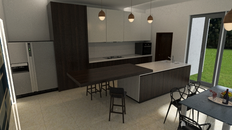 KITCHEN Interior Design Render