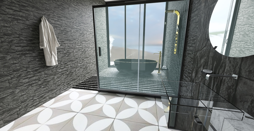 Luxurious Modern House Interior Design Render