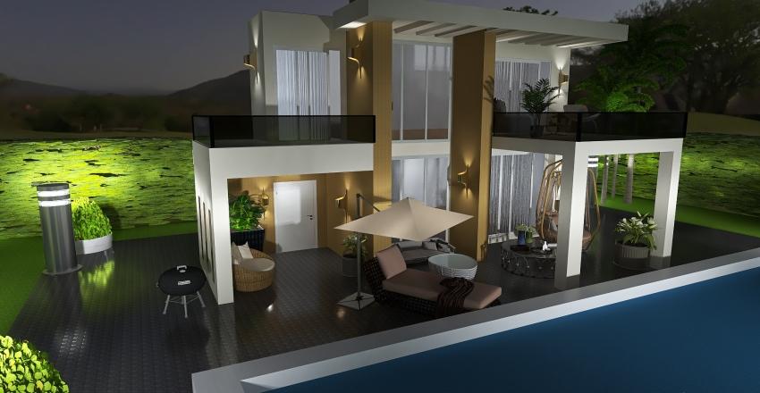 outdoor Interior Design Render