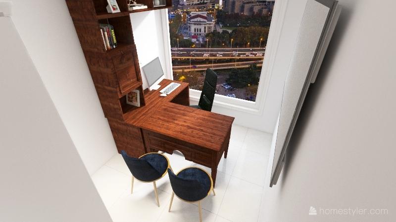 Oficina Vera 951 nuevas medidas Interior Design Render