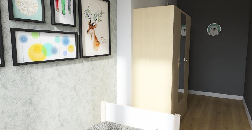 appartamento 75 mq Interior Design Render